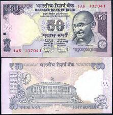 INDIA 50 RUPEES 2012 P NEW SYMBOL UNC LOT 5 PCS
