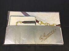 Vintage 70s Gucci Round Table Linen Set Nos Ultra Rare Collectible Condition