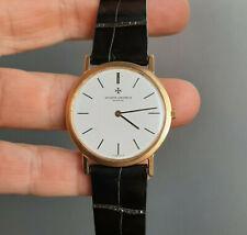 Vacheron Constantin 18k Yellow Gold Patrimony Watch Ref 6351 Extra Slim Cal 1003