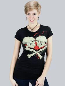 """Iron Fist T-Shirt """"Kissing Cousins"""", schwarz, Größen: XS - M"""