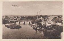 Zweiter Weltkrieg (1939-45) Ansichtskarten aus den ehemaligen deutschen Gebieten für Brücke