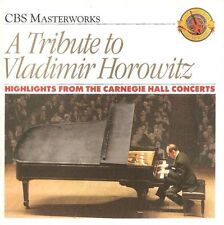A Tribute To Vladimir Horowitz - Carnegie Hall Highlights (CD 1989) *NR. MINT*