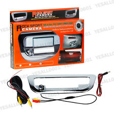 Chrome Car Rear View Reverse Camera 170° Tailgate Cover for Ford Ranger 2012-15