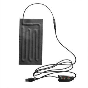 Carbon Fiber Heating Pad Hand Warmer USB Heating Film Electric Winter Heat Mat.