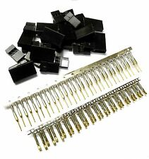 RC Compatible JR Set Male Female Connector Plug Gold Plated x 10