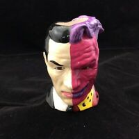 1995 DC Comics Ceramic Collectible Harvey Dent Two Face Coffee Mug Cup