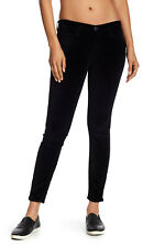 NWT $218 Current/Elliott Stilletto Velvet Skinny Pants Size 31