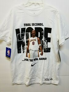 Super Rare Nike Kobe Bryant Buzzer Beater LA Lakers Mamba Day Shirt size Youth L