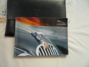 JAGUAR X350 XJ6 XJ8 XJR HANDBOOK ONLY AND WALLET, 2002 ONWARDS