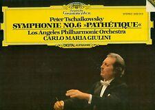 "TSCHAIKOWSKY SYMPHONIE NR.6 PATHETIQUE CARLO MARIA GIULINI 12"" LP (b328)"