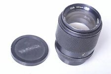 CONTAX, YASHICA DSB 135MM 2.8 LENS WITH CAPS. FREE WW SHIPPING