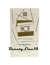 Givenchy Hot Couture White Collection Eau De Parfum .06oz/2ml new
