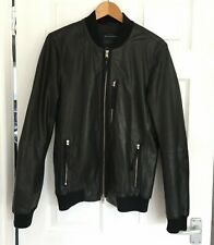 All Saints Soft Leather Black Jacket XS/S