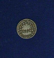 BOLIVIA  REPUBLIC  1861-PTS-FJ  1/2 SOL SILVER COIN, VF+
