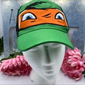 Teenage Mutant Nina Turtle Michaelangelo 4-16 Hat