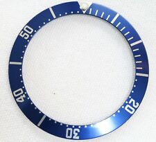 BEZEL INSERT FITS OMEGA SEAMASTER WATCH BLUE PART GENERIC DIAL REPAIRS PART 2551