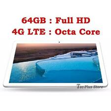 """NEW TECA 811S 4G LTE 3.6GHz OCTA CORE 64GB 10.1"""" Full-HD ANDROID 6.0 TABLET PC"""