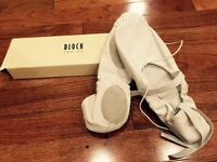 Bloch So203l Prolite II White Leather Hybrid Ballet Shoes Sz 9b, New
