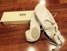 Bloch So203l Prolite II White Leather Hybrid Ballet Shoes 8c, New (Runs Large)