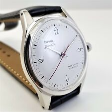 HMT JANTA 051187 17JEWELS INDIA MADE WHITE DIAL WRIST WATCH  38*44*10 RARE PC A1