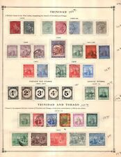 Trinidad Collection from Great 1840-1940 Scott Intern Album