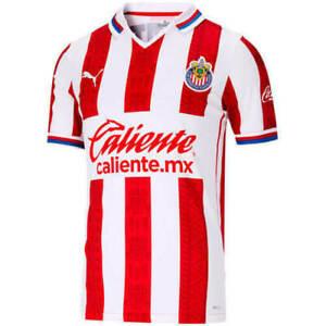 Puma CHIVAS DE GUADALAJARA Men's Home Soccer Jersey 2020 2021 763048-01 New