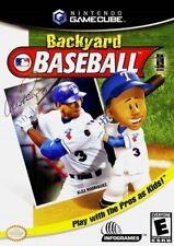 Backyard Baseball Nintendo Gamecube Game Only