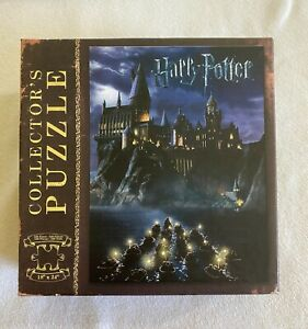 """Harry Potter Hogwarts 550 piece Collector's Puzzle 18"""" x 24"""" USAopoly complete"""