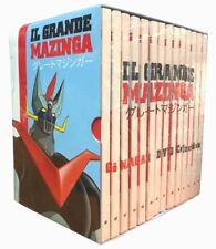 14 Dvd Box Cofanetto IL GRANDE MAZINGA di Go Nagai serie collez completa nuovo