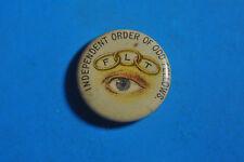 Independent Order of Oddfellows FLT Pinback