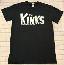 The Kinks  'Black'  T-Shirt