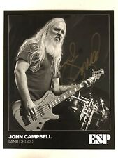 LAMB OF GOD JOHN CAMPBELL  AUTOGRAPHED SIGNED PROMO PHOTO W/ EXACT SIGNING PROOF