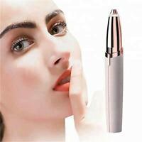 Ladies Eyebrows Facial Hair Remover Precision Trimmer Epilator AU Seller