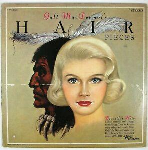 GALT MacDERMOTT Hair Pieces LP 1968 JAZZ/FUNK VG+ NM-