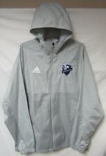 Montreal Impact Men's Size X-Large Adidas Hooded Windbreaker Jacket Gray A1 99