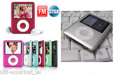 "Mini MP3 MP4 32GB fino 1.8"" LCD radio FM, Grabadora voz, Ebook, 6 colores- MODA!"
