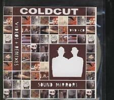 COLDCUT Videos + Remixes Sound Mirrors DOUBLE PROMO CD ALBUM