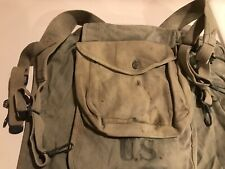 WW1 Haversack Pack 1918 W/Mess Kit Pouch