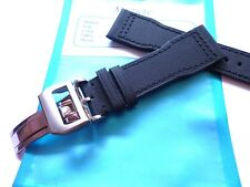 - Strap in 22mm Black Canvas Nylon in 22/18mm - Pilot Flieger b-uhr - IWC Style