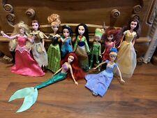 Disney Muñecas Bundle! Lote de muñecas encantadoras, Cinderella Gira!!!