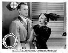 Lot of 2, Virginia Mayo Bennett, Hutton stills SMALL GIRLS DON'T TALK (1948)NOIR