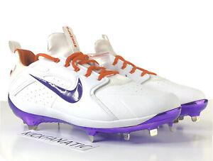 Nike Alpha Huarache Elite Low Baseball Cleats Clemson Tigers 924487-182 SZ 11.5