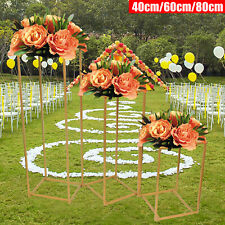 3Xflower Frame Geometric Box Stand Iron Wedding Prop Party Decoration Display Us