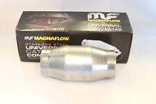 """3"""" Magna High  Flow Catalytic Convertor 59959 Spun Metallic Cat"""