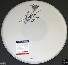 "SLASH Signed 14"" Drum Head Big Auto PSA/DNA Certified Autograph Guns N' Roses"