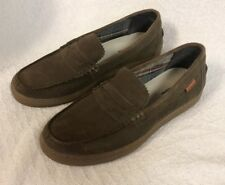 Hush Puppies Slip On Loafers Shoes Brown Size 10.5 - 10 1/2