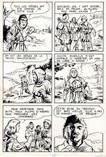 SYLVER DES COLLINES (TITO MARCHIORO) MERVEILLEUSE PLANCHE ORIGINALE PAGE 16