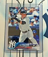 CLINT FRAZIER RC 2018 Topps Series 1 Baseball # 7 Rookie New York Yankees QTY