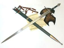 United Cutlery Lord of The Rings Strider Ranger Sword Uc1299 w/ Uc1366 Scabbard