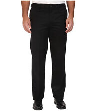 Dockers Men's Pant Flat Front Comfort Waist Black Size 34x38